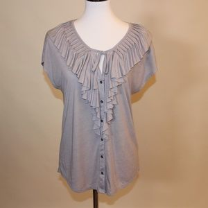 Soft Joie Gray Top Size S